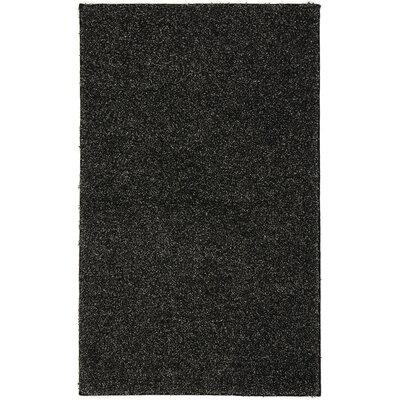 Elyssa Shag Salt/Pepper Area Rug Rug Size: 7 x 10