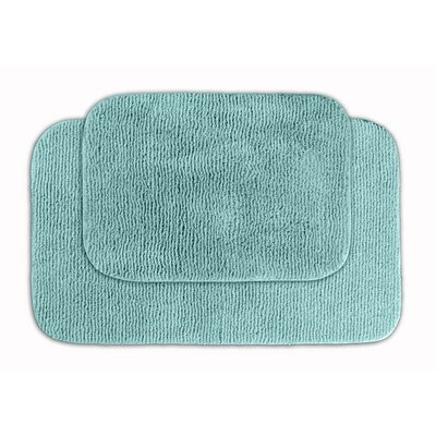 Glamor Bath Rug Color: Sea Foam