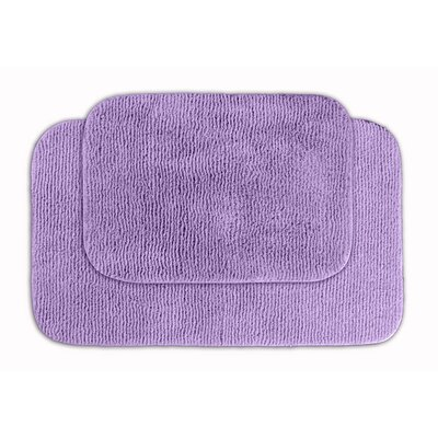 Glamor Bath Rug Color: Purple