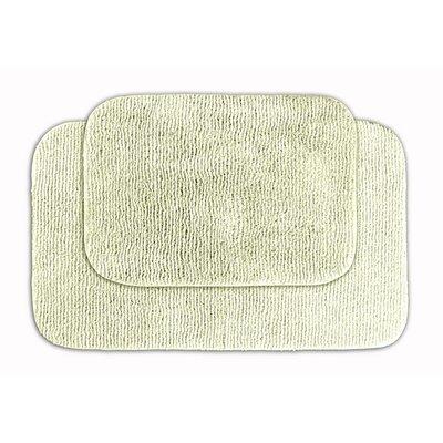 Glamor Bath Rug Color: Ivory