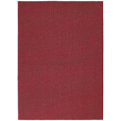Chili Red Berber Colorations Area Rug Rug Size: 5' x 7'