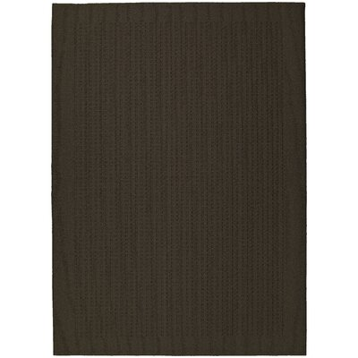 Mocha Herald Square Area Rug Rug Size: 5 x 7