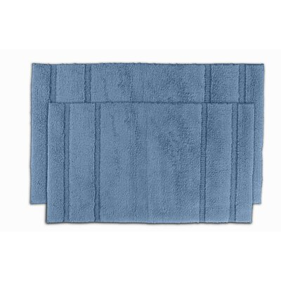 Majesty Bath Rug Color: Sky Blue