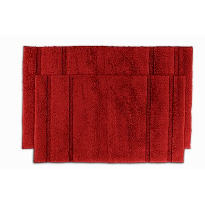 Majesty Bath Rug Color: Chili Pepper Red