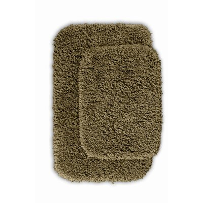 Serendipity Bath Rug (Set of 2) Color: Taupe