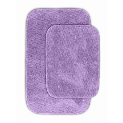 Cabernet Bath Rug Color: Purple