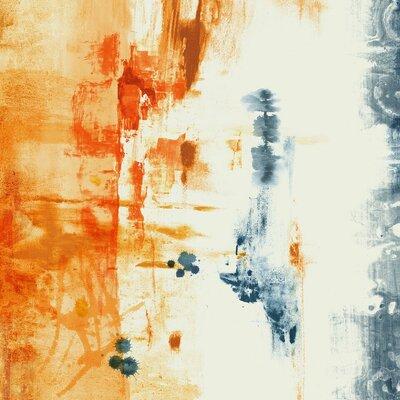 'Tangerine Dream III' Graphic Art Print on Glass Size: 24