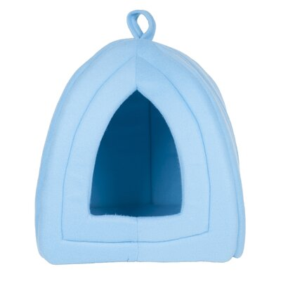 Kitty Igloo Enclosed Cat Bed Color: Blue