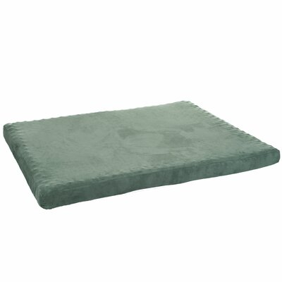 Orthopedic Super Foam Dog Pillow Color: Forest, Size: Medium (25.5 L x 19 W)