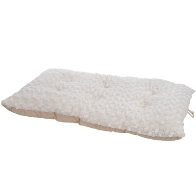 Lavish Cushion Furry Dog Pillow Size: Small (23 L x 16 W), Color: Latte
