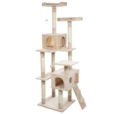 Skyscraper 66 Sleep and Play Cat Tree