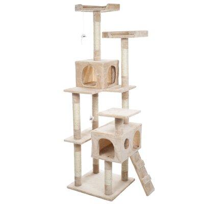 Skyscraper 66 Sleep and Play Cat Tree