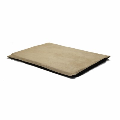 Orthopedic Foam Dog Mat Color: Clay, Size: Jumbo (41 W x 31 D x 2 H)