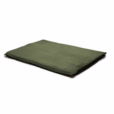 Orthopedic Foam Dog Mat Color: Forest, Size: Large (32 W x 24 D x 2 H)