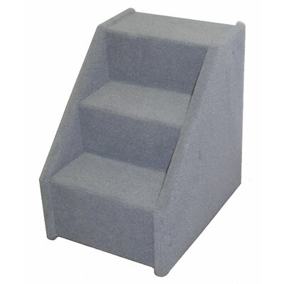 Bears Stairs� Mini Value Line 3 Step Pet Stair Color: Gray