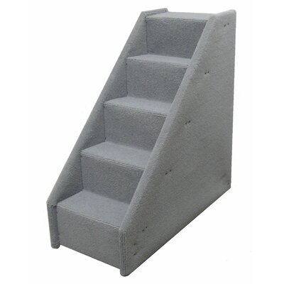 Bears Stairs� Mini Value Line 5 Step Pet Stair Color: Gray