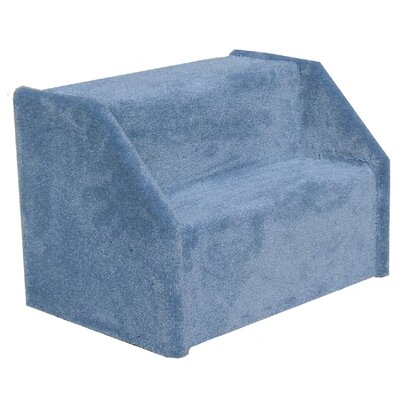 Bears Stairs� Carpeted 2 Step Pet Stair Color: Blue