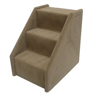 Bears Stairs Mini Value Line 3 Step Pet Stair Color: Beige