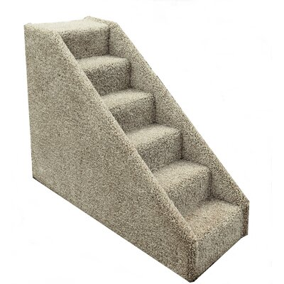 Bears Tiny 6 Step Pet Stair Color: Beige