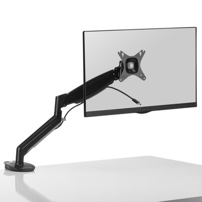 DMG1000 Height Adjustable Universal Desktop Mount Finish: Black