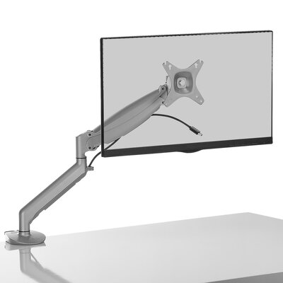 DMG1000 Height Adjustable Universal Desktop Mount Finish: Silver