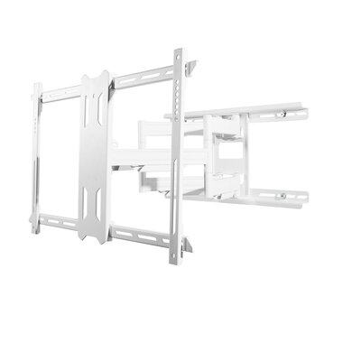 Full Motion Mount for 37 - 75 Flat Panel Screens Finish: White