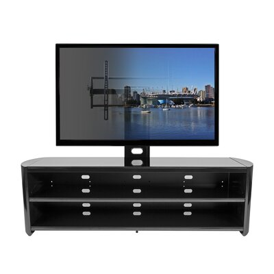 Plus TV Stand Finish: Black