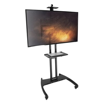 Mobile TV Fixed Floor Stand Mount for Greater than 50 Flat Panel Screen
