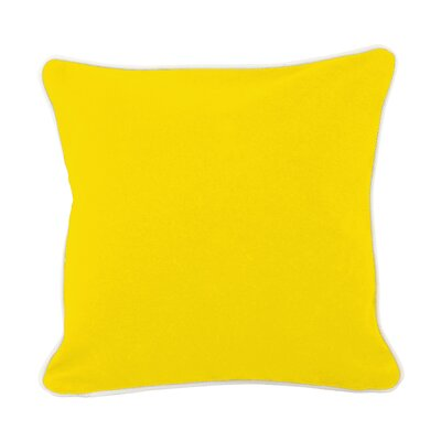 Lockington Throw Pillow Size: Large, Color: Yellow