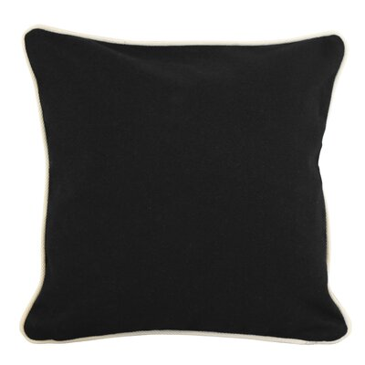Lockington Throw Pillow Size: Large, Color: Black