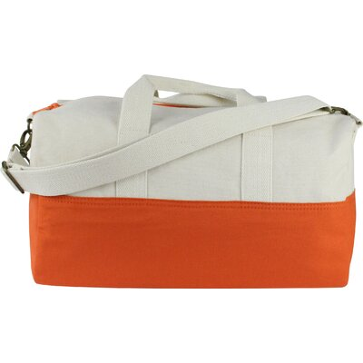 "10.5"" Duffel Bag Color: Orange"