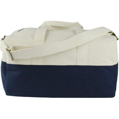 "10.5"" Duffel Bag Color: Navy"