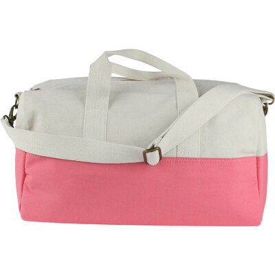 "10.5"" Duffel Bag Color: Coral"
