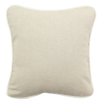 Jute Indoor/Outdoor Throw Pillow Size: 16 H x 16 W