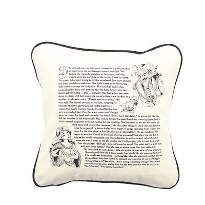 Fantasy Love Story Edition Indoor/Outdoor Cotton Throw Pillow Size: 12 H x 12 W