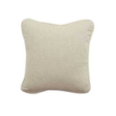 Jute Indoor/Outdoor Throw Pillow Size: 12 H x 12 W