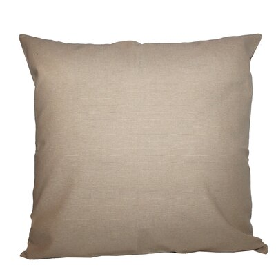 Jute Indoor/Outdoor Throw Pillow