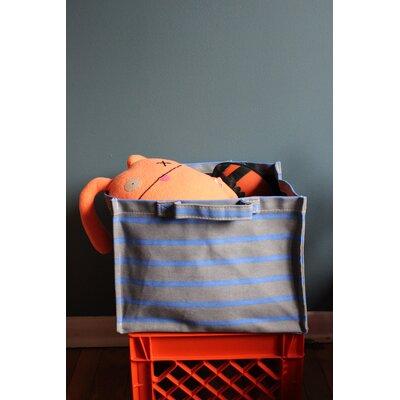 Sailor Striped Square Laundry Hamper