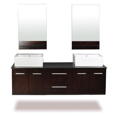 Skyline 60 Double Bathroom Vanity Set with Mirror