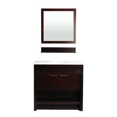 Auburn 36 Single Bathroom Vanity Set with Mirror
