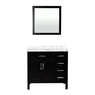 Brincken 36 Single Bathroom Vanity Set with Mirror