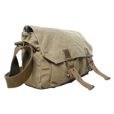 Vagabond Traveler Messenger Bag - Color: Khaki