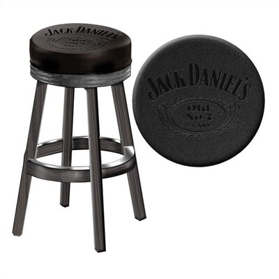 Financing Jack Daniel's Wood Bar Stool...