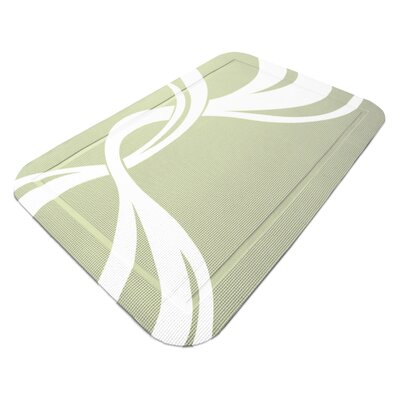 SmartGrip Cat Litter Mat Color: Sage Twist