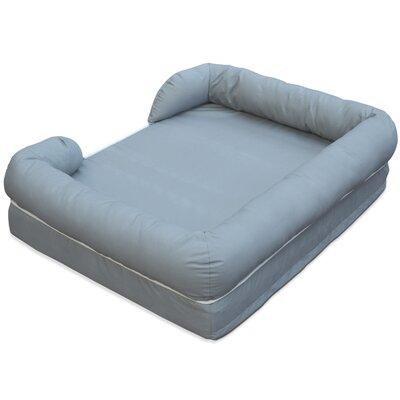 Ultimate Lounge Premium Edition Dog Bed with Solid Memory Foam Size: Large (9H x 28W x 36L)