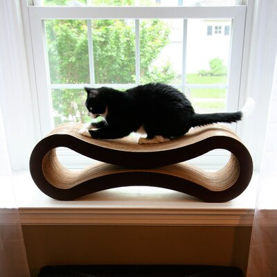 Freddie Ultimate Cat Scratcher Lounge & Bed Color: Walnut Brown