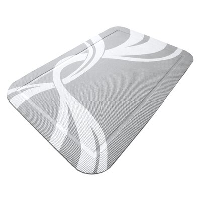 SmartGrip Cat Litter Mat Color: Gray Twist
