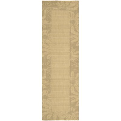 New Patina Beige Area Rug Rug Size: Runner 23 x 75