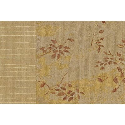 New Patina Gold Area Rug Rug Size: Runner 23 x 75