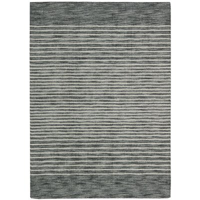 Tundra Hand-Woven Gray Area Rug Rug Size: Rectangle 79 x 1010